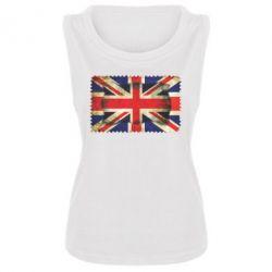 Женская майка England - FatLine