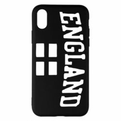 Чехол для iPhone X/Xs England
