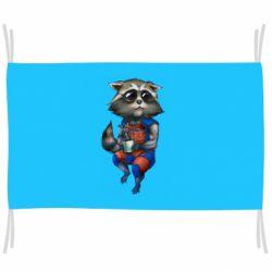 Прапор Єнот Ракета і Грут