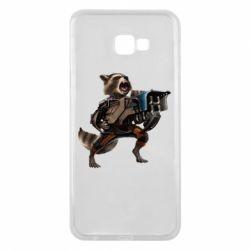 Чехол для Samsung J4 Plus 2018 Енот Стражи Галактики