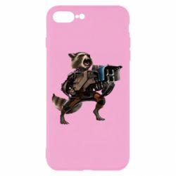 Чехол для iPhone 7 Plus Енот Стражи Галактики