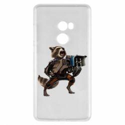 Чехол для Xiaomi Mi Mix 2 Енот Стражи Галактики
