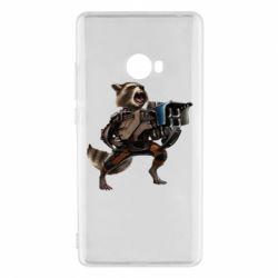Чехол для Xiaomi Mi Note 2 Енот Стражи Галактики