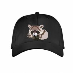 Детская кепка Eнот вектор