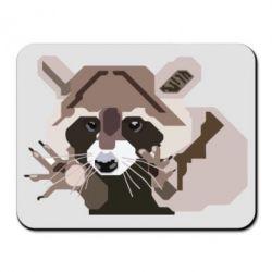 Коврик для мыши Eнот вектор