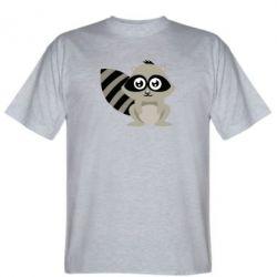 Мужская футболка Енот - FatLine