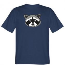 Мужская футболка Енотик - FatLine