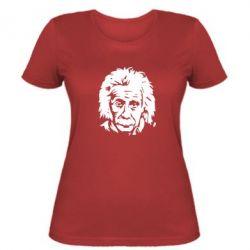 Жіноча футболка Енштейн - FatLine