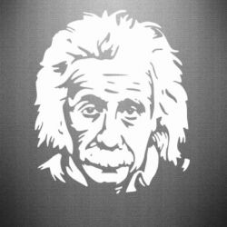 Наклейка Энштейн - FatLine