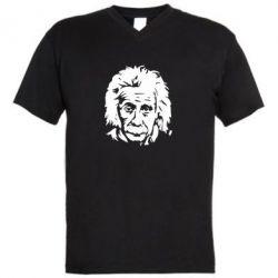 Чоловічі футболки з V-подібним вирізом Енштейн - FatLine