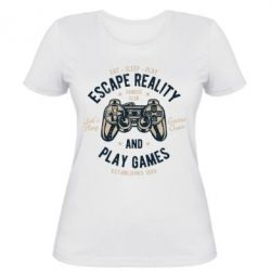 Жіноча футболка Escape Reality