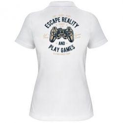 Жіноча футболка поло Escape Reality