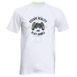 Чоловіча спортивна футболка Escape Reality