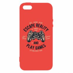 Чохол для iphone 5/5S/SE Escape Reality