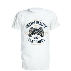 Подовжена футболка Escape Reality