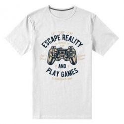 Чоловіча стрейчева футболка Escape Reality