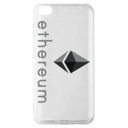 Чехол для Xiaomi Redmi Go Ethereum