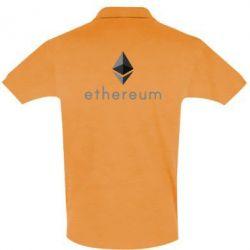 Мужская футболка поло Ethereum