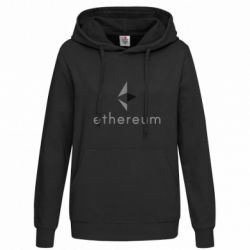 Женская толстовка Ethereum