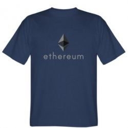 Мужская футболка Ethereum