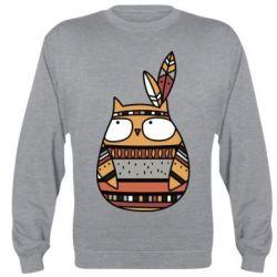 Реглан Ethnic owl 2