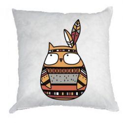 Подушка Ethnic owl 2