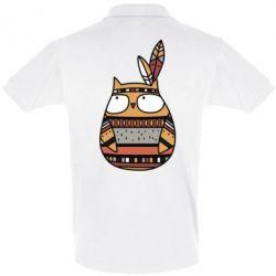 Футболка Поло Ethnic owl 2
