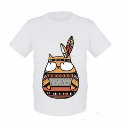 Детская футболка Ethnic owl 2