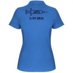 Жіноча футболка поло Це мій друг