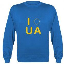 Реглан (свитшот) Euro UA - FatLine