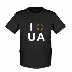 Детская футболка Euro UA - FatLine