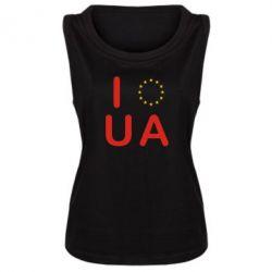 Женская майка Euro UA - FatLine
