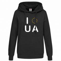 Женская толстовка Euro UA - FatLine
