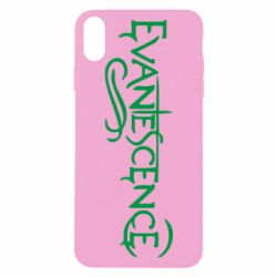 Чехол для iPhone X evanescence - FatLine
