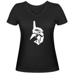 Жіноча футболка з V-подібним вирізом Євангеліо