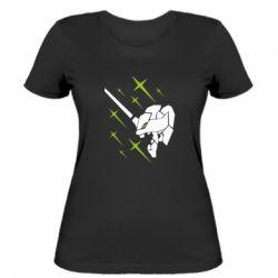 Жіноча футболка Evangelion head