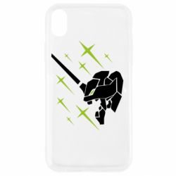 Чохол для iPhone XR Evangelion head