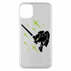 Чохол для iPhone 11 Pro Evangelion head