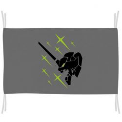 Прапор Evangelion head