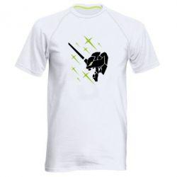 Чоловіча спортивна футболка Evangelion head