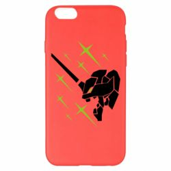 Чохол для iPhone 6 Plus/6S Plus Evangelion head