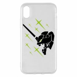 Чохол для iPhone X/Xs Evangelion head
