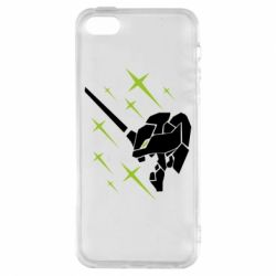 Чохол для iphone 5/5S/SE Evangelion head