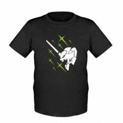 Дитяча футболка Evangelion head
