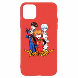 Чохол для iPhone 11 Evangelion Heroes