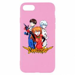 Чохол для iPhone 7 Evangelion Heroes