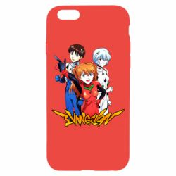 Чохол для iPhone 6/6S Evangelion Heroes