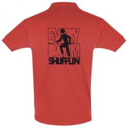 Футболка Поло Every Day I'm shufflin
