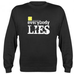 Реглан (свитшот) Everybody LIES House - FatLine