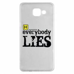 Чехол для Samsung A5 2016 Everybody LIES House